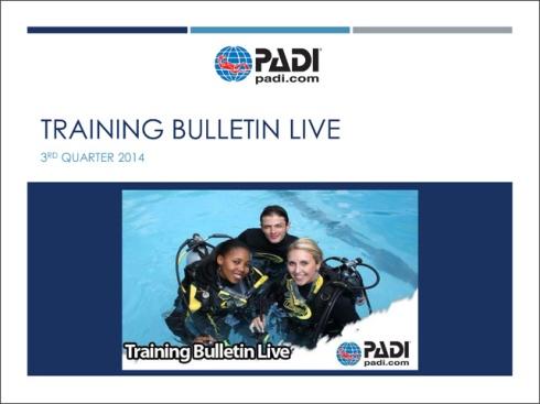 Training Bulletin LIVE 3Q14.p