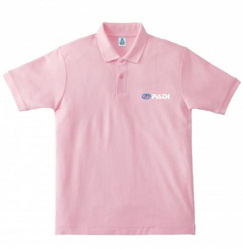 ポロシャツピンク