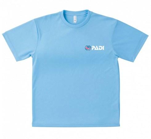 青TシャツPADIロゴ