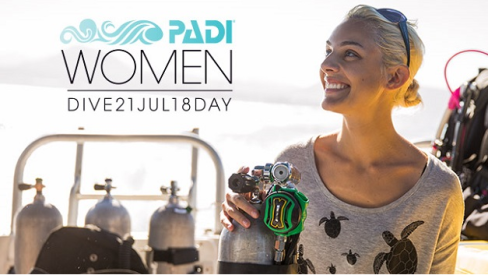 WomanDiveDay2018